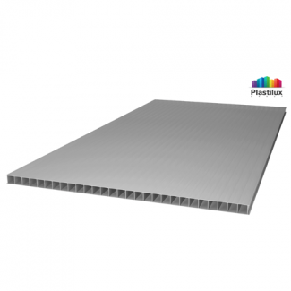 Сотовый поликарбонат POLYNEX серебро 2100х6000х6мм
