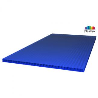 Сотовый поликарбонат ROYALPLAST синий 2100х12000х4мм