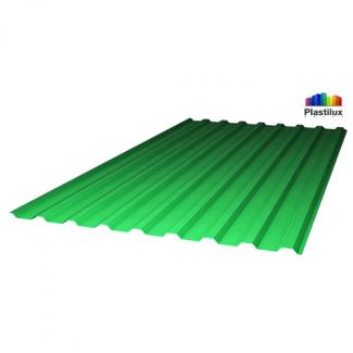 """Прозрачный шифер промышленный МП-20 (У) зелёный """"колотый-лёд"""" 1,15х2м"""