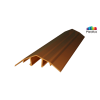 Профиль для поликарбоната ROYALPLAST HCP-U крышка бронза 4-10мм 6000мм