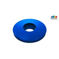 Прессшайба резиновая для поликарбоната синий D=30мм