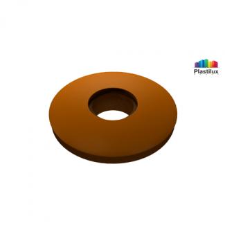 Прессшайба резиновая для поликарбоната бронза D=30мм