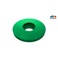 Прессшайба резиновая для поликарбоната зелёный D=30мм