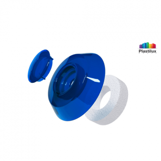 Термошайба для поликарбоната УП1000 синий D=40мм